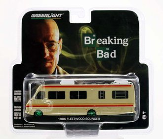 "Chase 1:64 1986 Fleetwood Bounder RV ""Breaking Bad"""