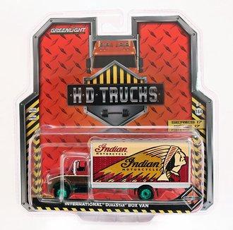 "Chase 1:64 H.D. Trucks Series 17 - 2013 International Durastar Box Van ""Indian Motorcycles"""