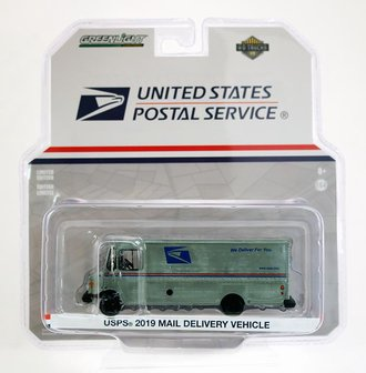 """Raw Chase 1:64 2019 Mail Delivery Vehicle """"United States Postal Service (USPS)"""" *** Raw Body ***"""