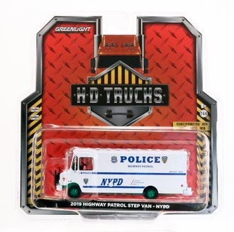 "Chase 1:64 2019 Highway Patrol Step Van ""New York City Police Dept (NYPD)"""