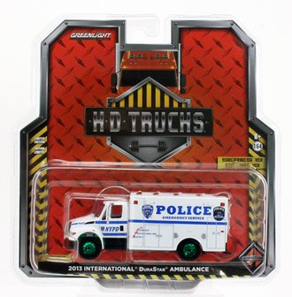 """Chase 1:64 2013 International DuraStar """"NYPD Emergency Service"""""""