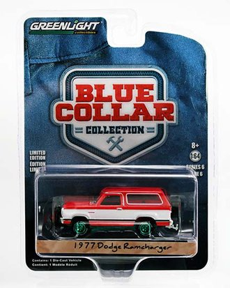 Chase 1:64 1977 Dodge Ramcharger w/Snow Plow