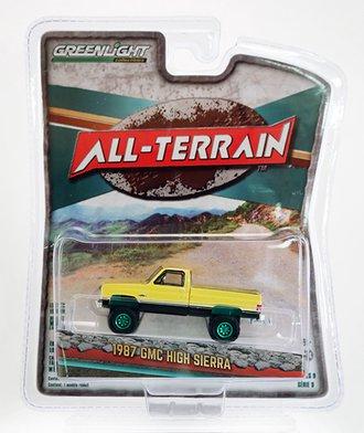 Chase 1:64 All-Terrain Series 9 - 1987 GMC High Sierra (Colonial Yellow/Black)