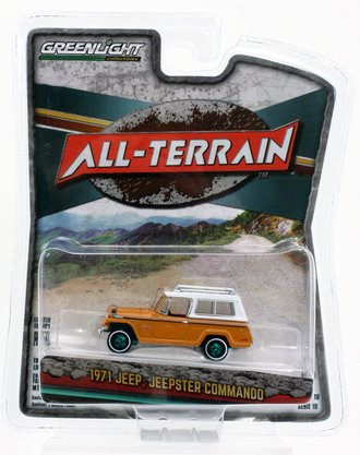 Chase 1:64 All-Terrain Series 10 - 1971 Jeep Jeepster Commando SC-1