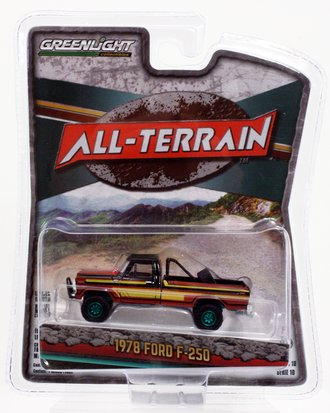 Chase 1:64 All-Terrain Series 10 - 1978 Ford F-250 with Off-Road Parts