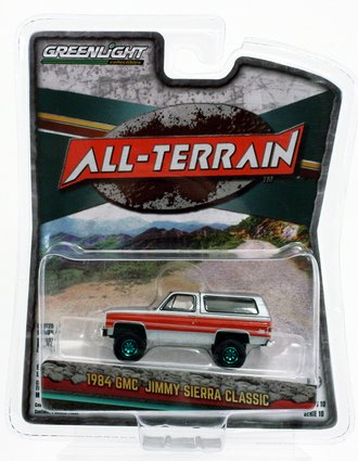 Chase 1:64 All-Terrain Series 10 - 1984 GMC Jimmy (Lifted)