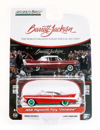 "Chase 1:64 Barrett-Jackson 'Scottsdale Edition' Series 5 - 1958 Plymouth Fury ""Christine"" (Lot #2006)"