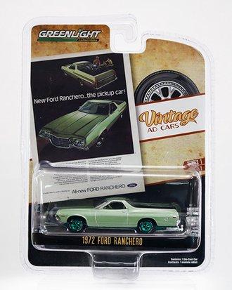 """Chase 1:64 1972 Ford Ranchero """"New Ford Ranchero...The Pickup Car!"""""""