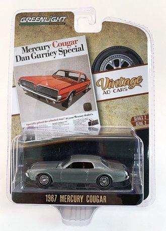"""Chase 1:64 1967 Mercury Cougar """"Mercury Cougar Dan Gurney Special"""" *** Raw Body ***"""