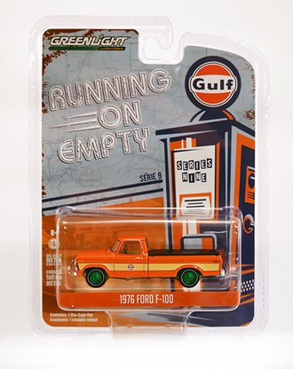 """Chase 1:64 1976 Ford F-100 with Bed Cover """"Gulf Oil"""""""