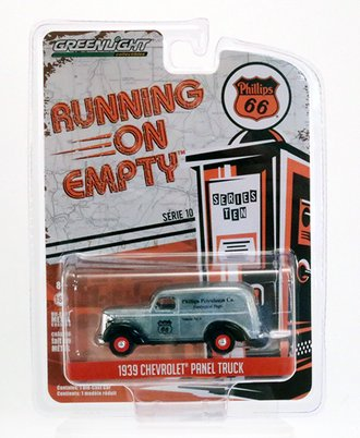 "Chase 1:64 1939 Chevrolet Panel Truck ""Phillips 66 Petroleum Co. Geological Dept."" *** Raw Casting ***"