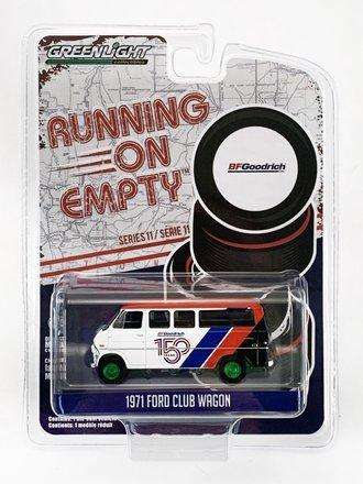 "Chase 1:64 Running on Empty Series 11 - 1971 Ford Club Wagon ""BFGoodrich 150th Anniversary"""