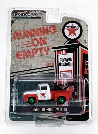 "Chase 1:64 1956 Ford F-100 Tow Truck ""Texaco Filling Station"""