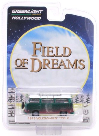Chase 1:64 Hollywood Series 9 - Field of Dreams (1989) - 1973 Volkswagen Type 2 (T2B) Bus
