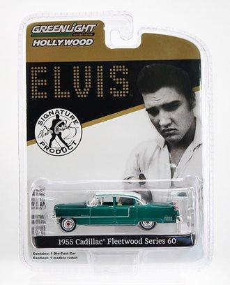Chase 1:64 Elvis Presley 1955 Cadillac Fleetwood Series 60  *** Green Body ***