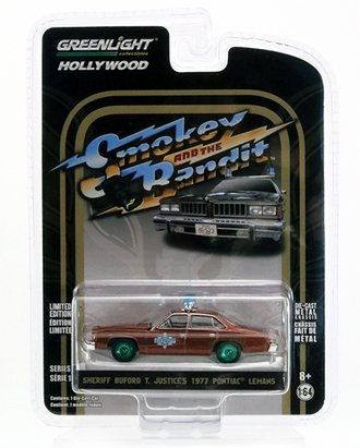 Chase 1:64 Smokey and the Bandit - Sheriff Buford T. Justice's 1977 Pontiac