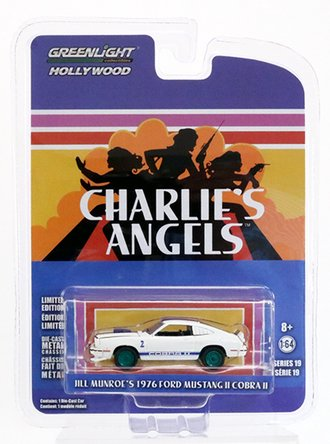 Chase 1:64 Hollywood Series 19 - Charlie's Angels (1976-81 TV Series) - 1976 Ford Mustang Cobra II