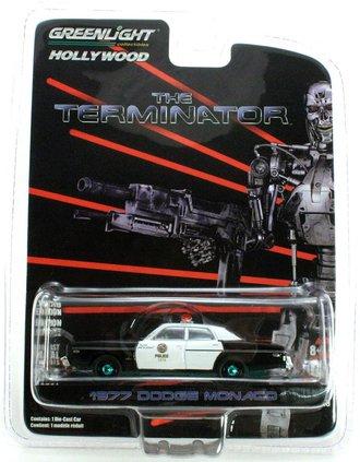 Chase 1:64 The Terminator (1984) - 1977 Dodge Monaco Metropolitan Police