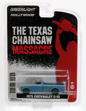 Chase 1:64 The Texas Chain Saw Massacre (1974) - 1971 Chevrolet C-10