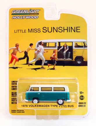 Chase 1:64 Hollywood Series 22 - Little Miss Sunshine (2006) - 1978 Volkswagen Type 2 Bus