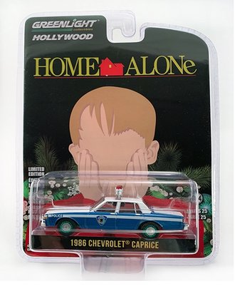 """Chase 1:64 Hollywood Series 25 - Home Alone 1986 Chevrolet Caprice """"Wilmette Illinois Police"""""""