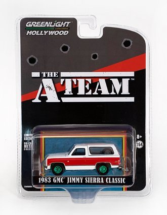 Chase 1:64 The A-Team (1983-87 TV Series) 1983 GMC Jimmy