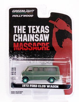 Chase 1:64 Hollywood Series 27 - The Texas Chain Saw Massacre (1974) - 1972 Ford Club Wagon