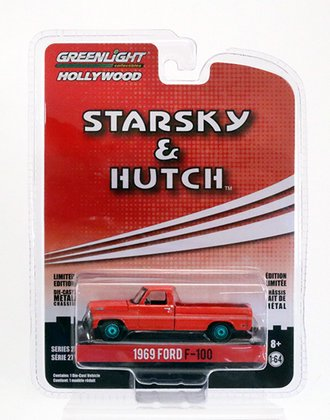 Chase 1:64 Hollywood Series 27 - Starsky and Hutch (TV Series 1975-79) - 1969 Ford F-100