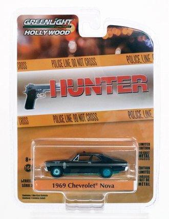 Chase 1:64 Hunter (1984-91 TV Series) - 1969 Chevrolet Nova Police