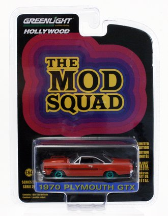 Chase 1:64 The Mod Squad 1970 Plymouth GTX