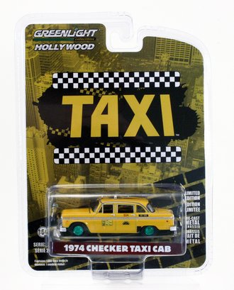 Chase 1:64 Taxi - 1974 Checker Taxi Sunshine Cab Company #804
