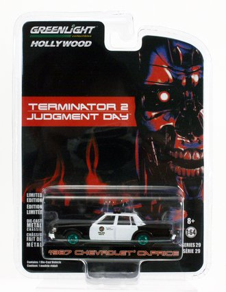 Chase 1:64 Terminator 2: Judgment Day - 1987 Chevy Caprice Metropolitan Police