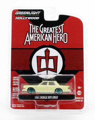 Chase 1:64 The Greatest American Hero (1981-83 TV Series) - Bill Maxwell's 1981 Dodge Diplomat