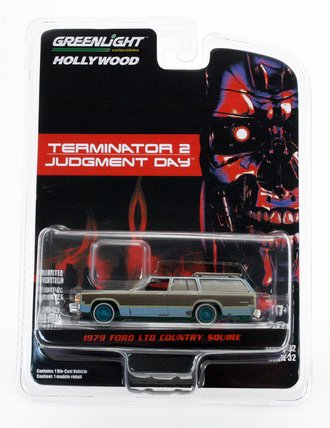Chase 1:64 Hollywood Series 32 - Terminator 2: Judgment Day (1991) - 1980 Ford LTD Country Squire