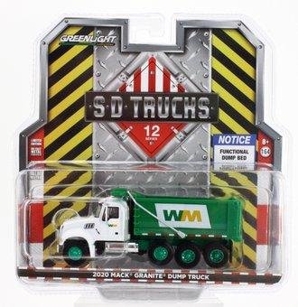 "Chase 1:64 2020 Mack Granite Dump Truck ""Waste Management"""