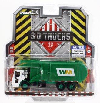 "Chase 1:64 2020 Mack LR Refuse Truck ""Waste Management"""