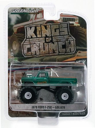 Chase 1:64 Goliath - 1979 Ford F-250 Monster Truck *** GREEN Body ***