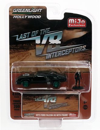 Chase 1:64 The Last of the V8 Interceptors - 1973 Ford Falcon XB w/Figure