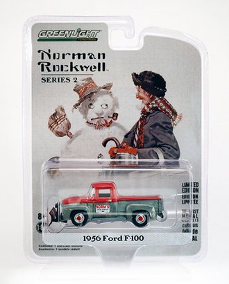 Raw Chase 1:64 Norman Rockwell 1956 Ford F-100 w/Snow Plow *** Raw Body ***