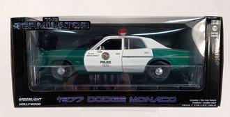 """Chase 1:24 Hollywood Series 10 """"The Terminator (1984)"""" 1977 Dodge Monaco Metropolitan Police"""