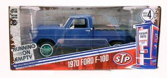 "Chase 1:24 1970 Ford F-100 w/Bed Cover ""STP"""