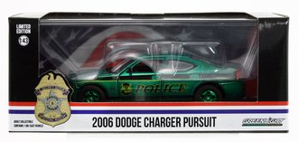 "Chase 1:43 2006 Dodge Charger ""United States Secret Service Police"" *** GREEN Body ***"