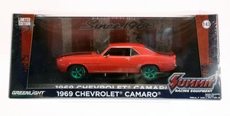 "Chase 1:43 1969 Chevrolet Camaro ""Summit Racing Equipment - Home of Performance Since 1968"""