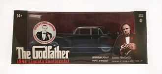 """Chase 1:43 1941 Lincoln Continental """"The Godfather (1972)"""" w/Don Corleone Figure"""