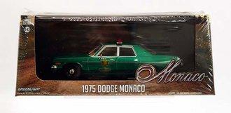 "Chase 1:43 1975 Dodge Monaco ""Hazzard County Sheriff"" *** GREEN Body ***"