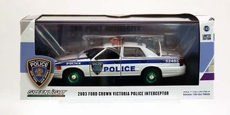 """Chase 1:43 2003 Ford Crown Victoria """"Port Authority of New York & New Jersey Police"""""""