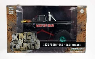 """Chase 1:43 Kings of Crunch - 1975 Ford F-250 Monster Truck w/66-Inch Tires """"Earthquake"""""""