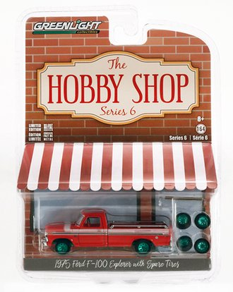 Chase 1:64 The Hobby Shop Series 6 - 1975 Ford F-100 Explorer with Spare Tires