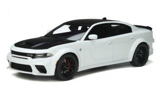 1:18 2021 Dodge Charger SRT Hellcat Redeye (White)