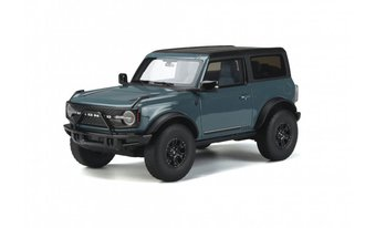1:18 2020 Ford Bronco First Edition (Area 51 Blue)